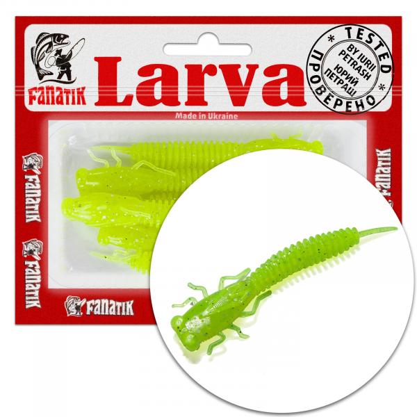 "Fanatik X-LARVA 2"" 3"" 4"" Best Soft Plastic Dragonfly Creature Bait"